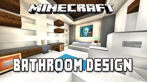 minecraft modern bathroom. Minecraft Tutorial: How To Make A Modern Bathroom Design (Modern House Build Ep.16) - YouTube