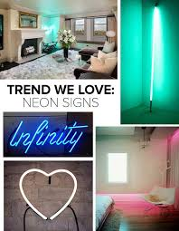 neon lighting for home. Trend We Love: Neon Signs Lighting For Home I