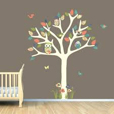 kids wall art decals monkey wall decals for nursery nursery wall decal owl tree decal owl