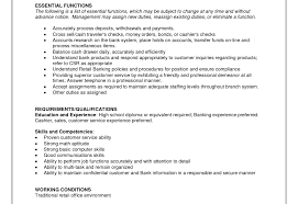 Bank Teller Resume With No Experience Writing Resume Sample Full
