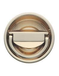 landsdown circular flush ring door handle