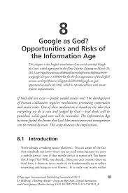 essay google information age essay essay paths google and nursing  information age essay google as god opportunities and risks of the information age