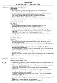 Sample Help Desk Analyst Resume Help Desk Analyst Resume Samples Velvet Jobs 10