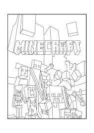 minecraft printable coloring pages printable coloring pages minecraft animal coloring pages printable