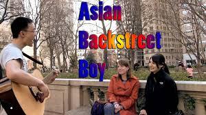 Asian backstreet boys video