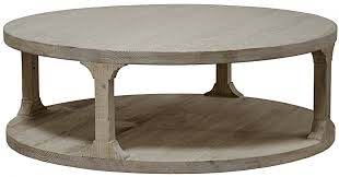 coffee tables reclaimed round coffee table wood double decker