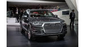 Smarter, lighter, more spacious Audi Q7 debuts in Detroit ...