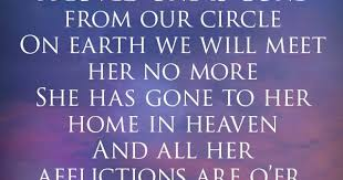 Remembrance Poem For the Headstone of a Sister, Friend ...