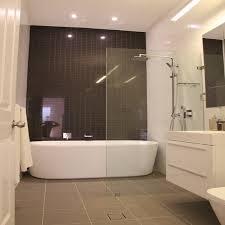 modern bath shower combo bathroom with shower walk in modern bathtub shower combination