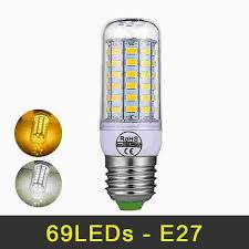 mini led lamp e27 69leds led light smd5730 led bulb 220v chandelier corn light high bright lighting replace incandescent lights gu24 led bulb 9007 led