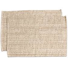 100-percent Cotton Two-tone Placemats (Set of 2, 4 or 6) - Free Shipping On  Orders Over $45 - Overstock.com - 17749735