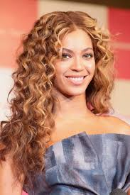 long curly hairstyle celebrity