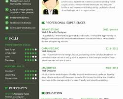 Cool Resume Formats Creative Resume Formats Best One Page Template Whilehomecom 19