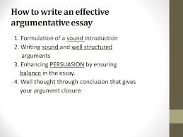 writing counter arguments and rebuttals ppt  4 how to write an effective argumentative essay