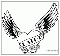 Small Picture 100 ideas Heart With Wings Coloring Pages on kankanwzcom