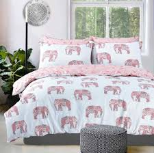 elephant pink quilt cover elephant pink bedding pillow