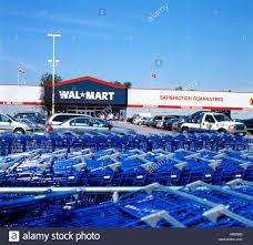 walmart exterior stock photos walmart exterior stock images alamy walmart storefront exterior blue shopping carts in the parking lot kathy dewitt stock