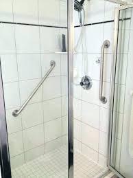 shower grab bars placement bathroom