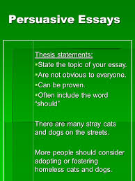 writing persuasive essays essential question how is a successful  4 persuasive