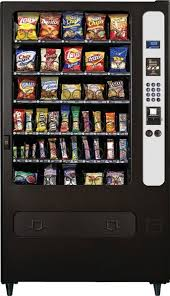 Vending Machine Business Las Vegas Gorgeous Large Glass Front Snack Vending Machine With IVend 48Selections