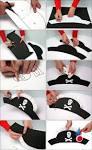 Шляпа пирата из бумаги своими руками как