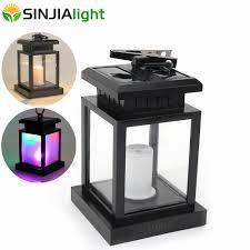 Goedkoopste Led Licht Kaars Lantaarn Zonne Energie Led Lamp