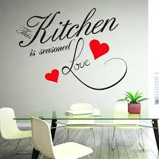 kitchen wall decal es wall sticker e kitchen heart home dining room large decor decal sayings kitchen wall
