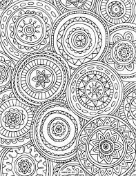 Stirring Mandala Coloring Pages Fors Owl Advanced Printable For