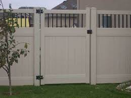 vinyl fence with metal gate. For All Your Vinyl Gate And Fence With Metal Y