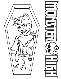 Small Picture 104 best monster high coloring pages images on Pinterest Monster