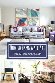 wall arts hang wall art how to the right way interior designer design new jersey