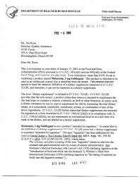 Warning Letter Stunning FDA Warning Letter To Great Lakes College Of BioethicsWatch