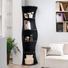 Enitial Lab Corner 5-shelf Display Stand/Bookshelf
