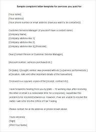 complaint letters complaint letters to companies examples suren  complaint letters sample complaint letter template for services sample complaint letters to insurance companies
