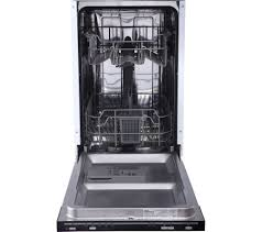 Mini Dishwashers Buy Essentials Cid45b16 Slimline Integrated Dishwasher Free