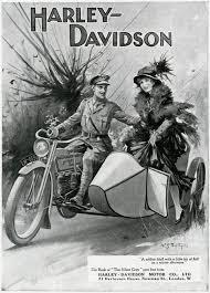 harley davidson advertisement ww1