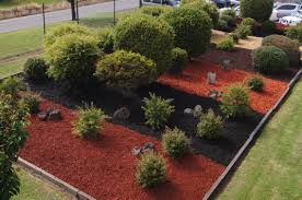 garden bark. This Garden Is Displayed Within Bark King\u0027s Yard In Montrose And We Use Area To Showcases Our Longalife® Coloured Products Playground Mulch.