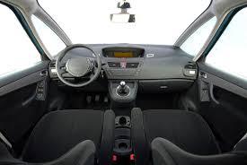 car interior with car seats