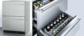 undercounter drawer refrigerator summit outdoor drawer refrigerator undercounter refrigerator freezer drawers reviews