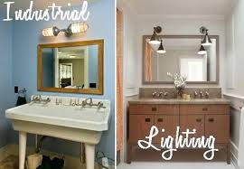 industrial lighting bathroom. Industrial Lighting Bathroom Magnificent Vintage To Update Your Space Home Decorating Blog . H