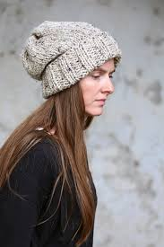 Slouchy Beanie Knit Pattern