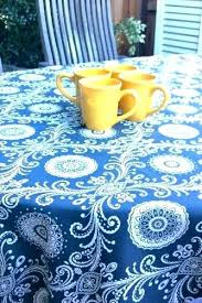 patio tablecloth with zipper patio furniture table cloth covers round lot fitted mosaic outdoor tablecloths with