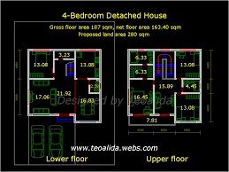2 y house design dwg lovely house plan house floor plans for autocad dwg home deco plans house