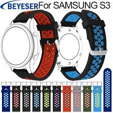<b>Sport Silicone Strap for</b> Samsung Gear S3 S 3 Frontier/Classic band ...