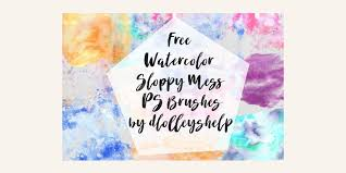 free watercolor brushes illustrator free watercolour elements for designers css author