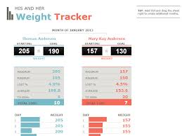 Weight Loss Tracking Template You Can Record Your Progress
