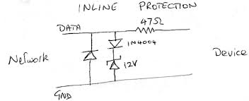1 wire surge protection