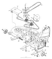 46 inch mowing deck lt 165 ford lawn tractor wiring diagram at w freeautoresponder