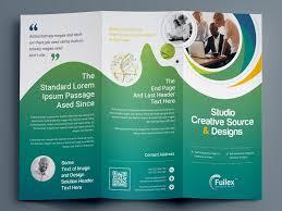 Design Brochure Template Professional Tri Fold Brochure Template By Krishno Chandra