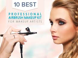 with the advancement of technology innovative methods of makeup are ing into to the front and among them airbrush makeup kits